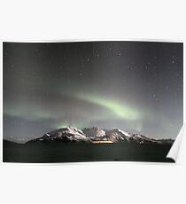 North Light / Aurora Borealis at Kvaløya island Poster