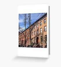 New York Streets Greeting Card