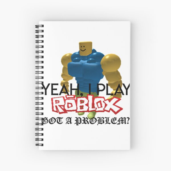 Sir Epic Face A K A Mr Epic Face Roblox Roblox Spiral Notebooks Redbubble
