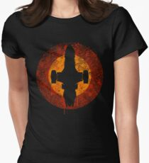 Serenity Eclipse Women's Fitted T-Shirt