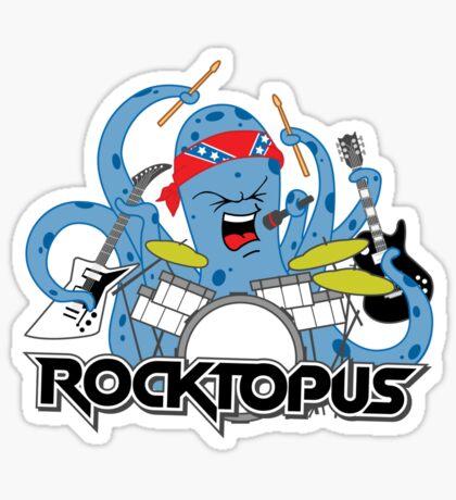 Rocktopus - Rocking Octopus Sticker