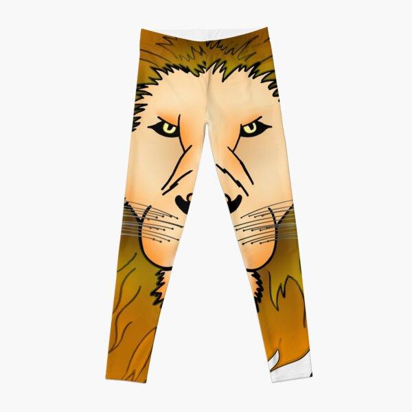 Lion head Leggings