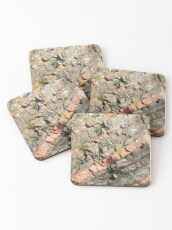 A slice of geology Coasters