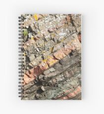A slice of geology Spiral Notebook