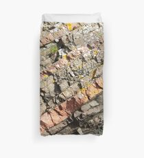A slice of geology Duvet Cover
