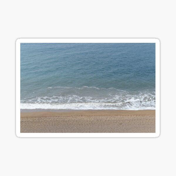 Birdseye beach Sticker