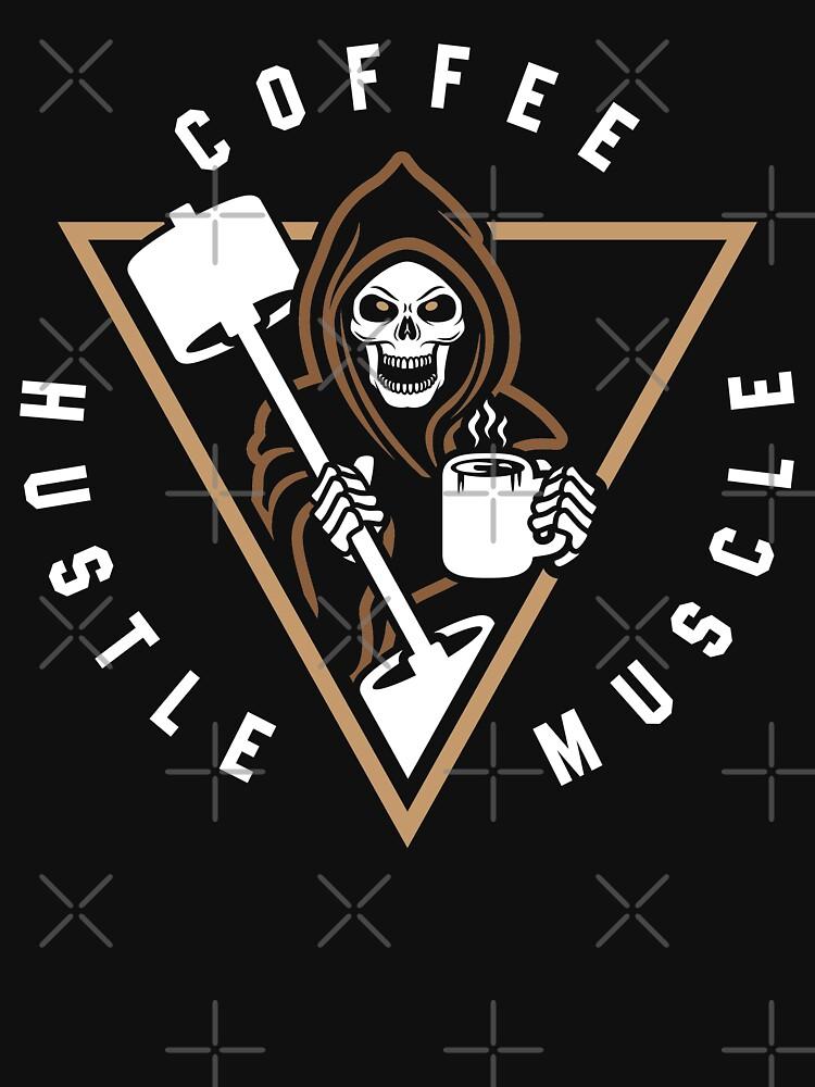 Coffee Hustle Muscle Grim Reaper by brogressproject