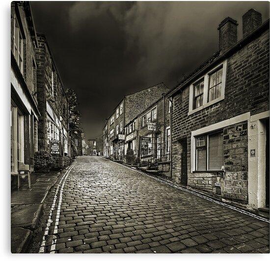 Haworth Main Street by Stephen Liptrot