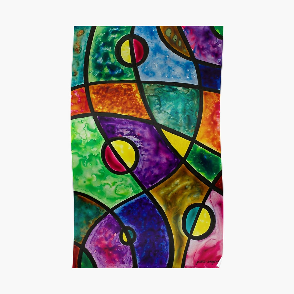 Cosmic Abstraction Poster