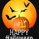 Laterne Jack-O glücklicher Halloween-Kürbis von Packrat