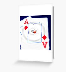 Aces Of Hearts Greeting Card