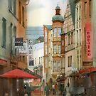 Street in Koblenz by Sergei Kurbatov