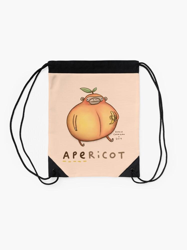 Alternate view of Apericot Drawstring Bag