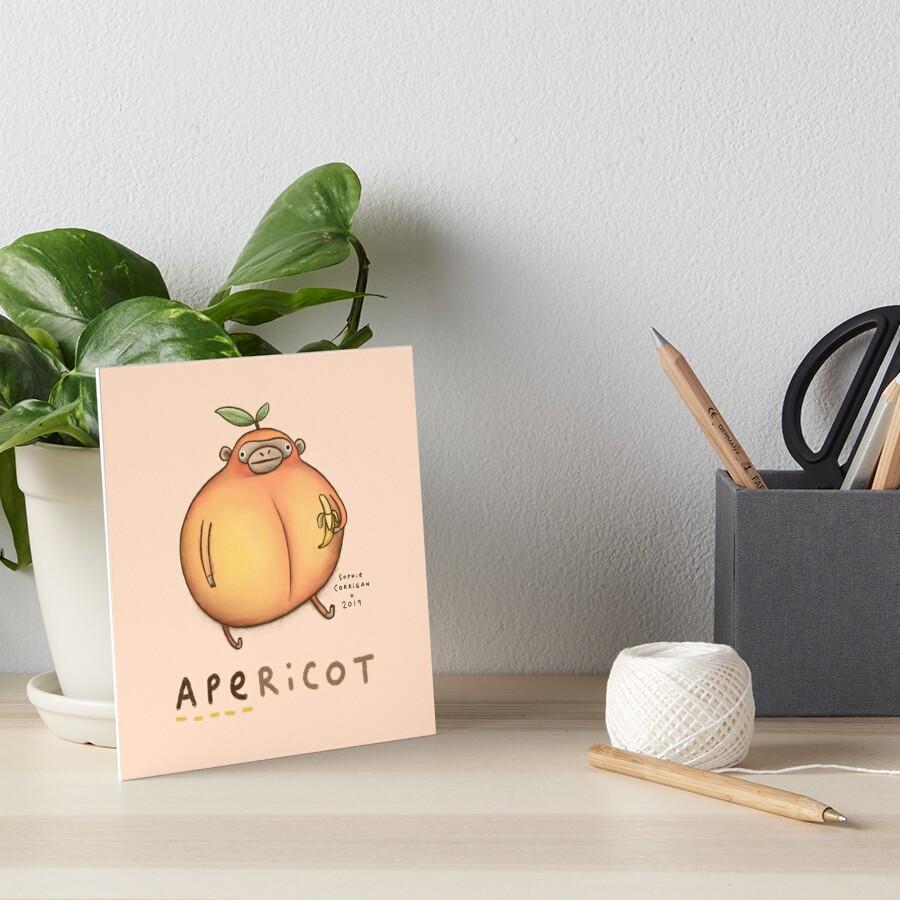 Apericot Art Board Print