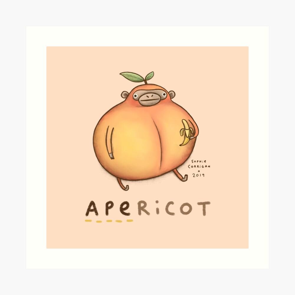 Apericot Art Print