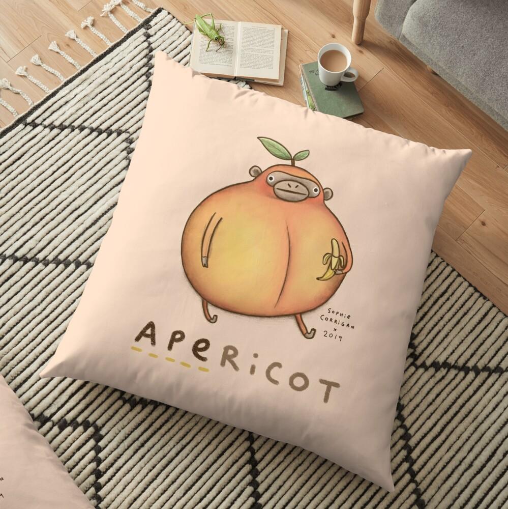 Apericot Floor Pillow