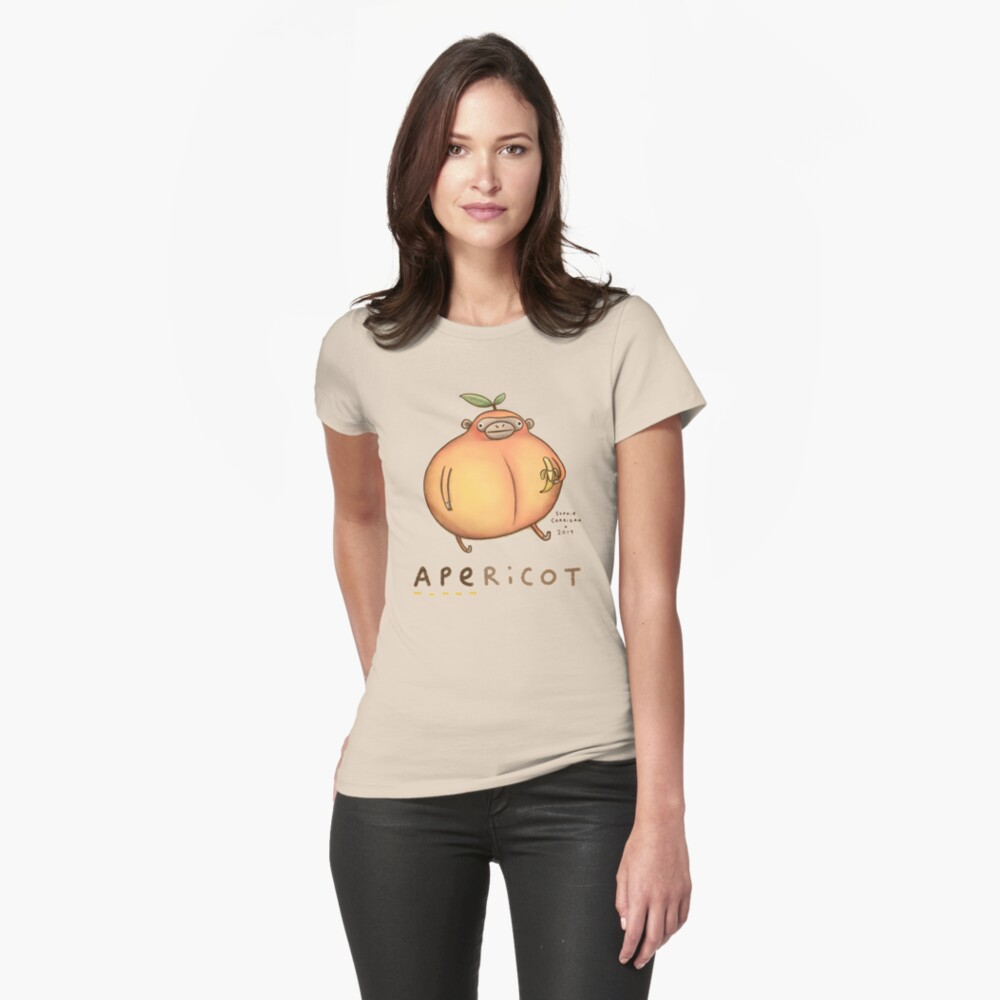 Apericot Fitted T-Shirt