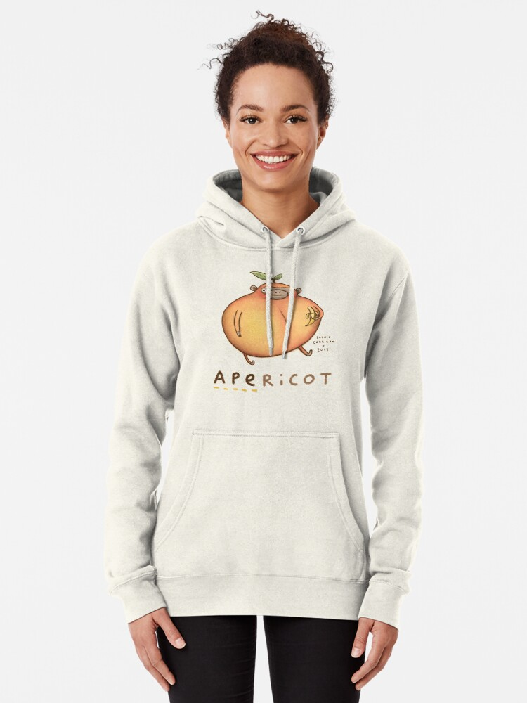 Alternate view of Apericot Pullover Hoodie