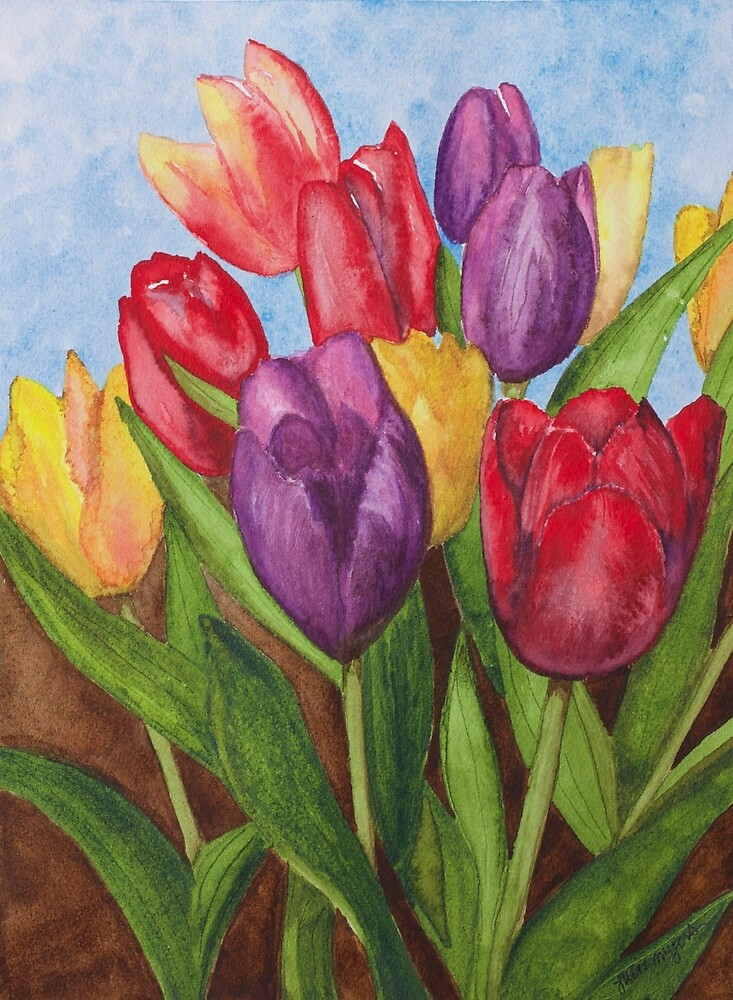 Tulips by Julie Myers