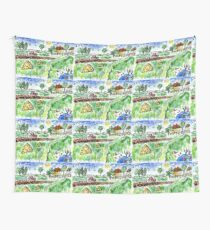 Rural Landscape Wall Tapestry