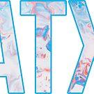 «ATX - Remolino azul» de Lindsey Morrison