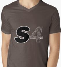 Castle S4 Men's V-Neck T-Shirt