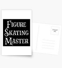 Gift for Ice Skater - Figure Skating Master - Ice Skating Present Postcards
