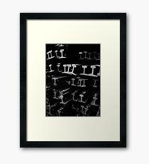 Rails #2 Framed Print