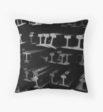 Rails #2 Throw Pillow