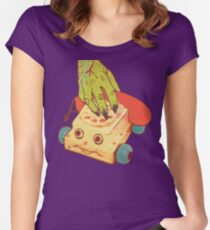 Thee Oh Sees Castlemania Women's Fitted Scoop T-Shirt