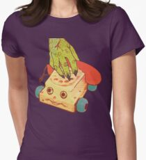 Thee Oh Sees Castlemania Women's Fitted T-Shirt