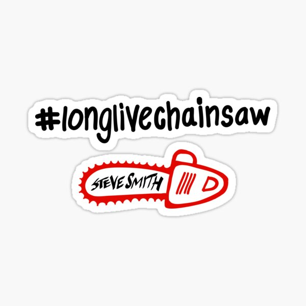 Long Live Chainsaw Sticker