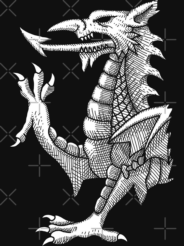 Líneas del dragón galés de GrizzlyGaz