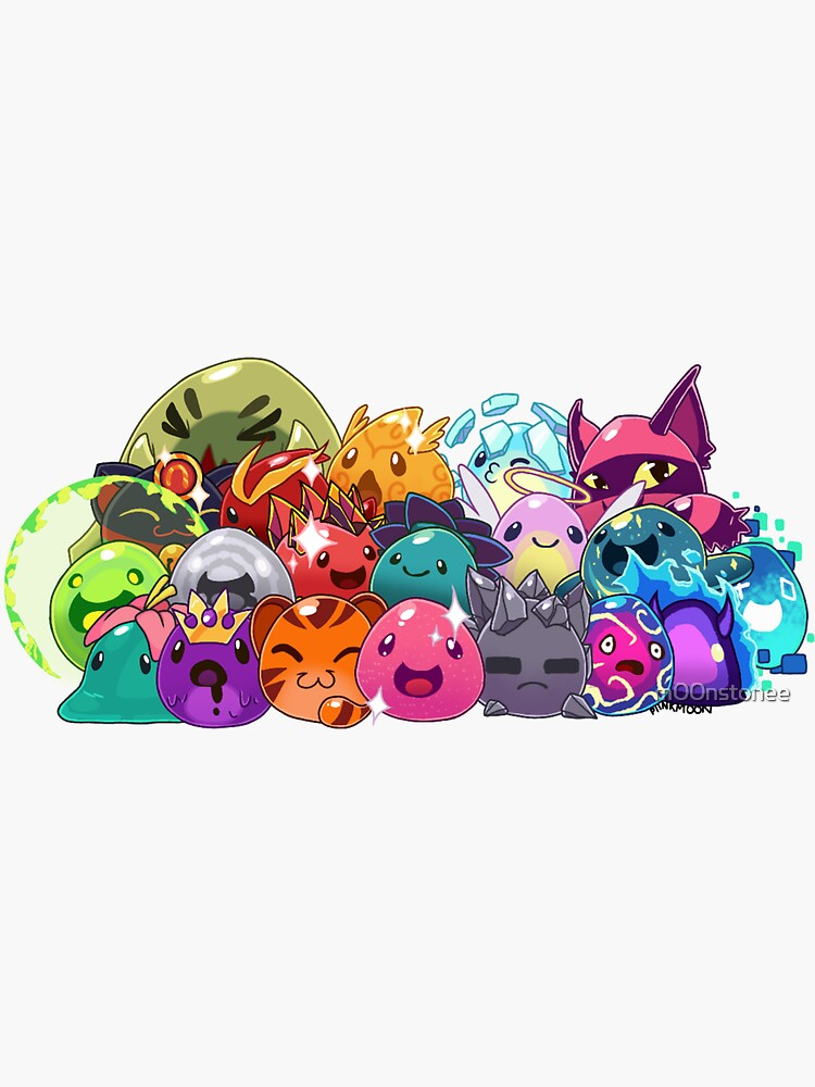 Slime Rancher Update: Secret Slimes by m00nstonee