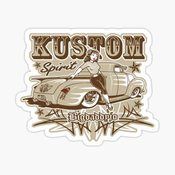 Kustom Spirit Sticker