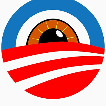 Eye of Obama: Big Brother is Watching by irregulargoods