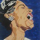Billie Holiday by RachelNatalie