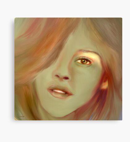 Light of a Child Canvas Print