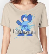 I Main Megaman - Super Smash Bros. Women's Relaxed Fit T-Shirt