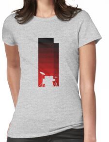 Red Drums Womens Fitted T-Shirt