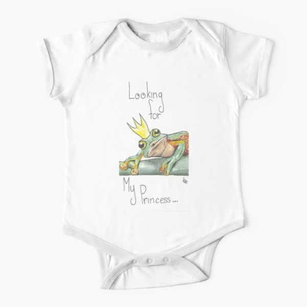 The princess and the Frog Short Sleeve Baby One-Piece