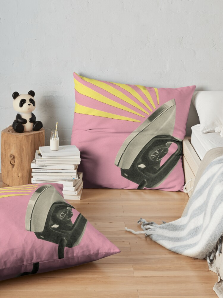 Alternate view of The Art of Ironing Floor Pillow
