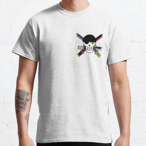 One Piece Zoro Logo T-shirt classique