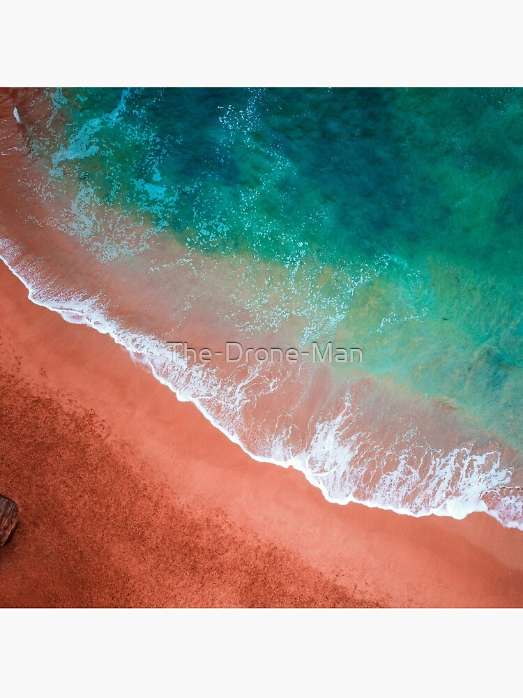 Aerial Colourful Sandy Beach  by The-Drone-Man