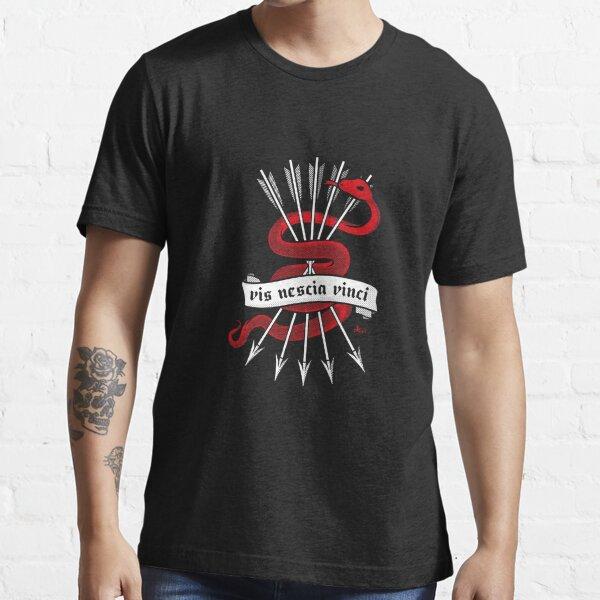 Vis Nescia Vinci (Unconquerable force) Essential T-Shirt