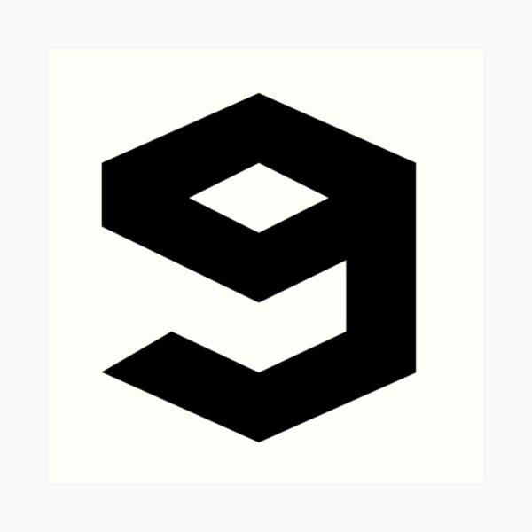 9gag Logo Art Print