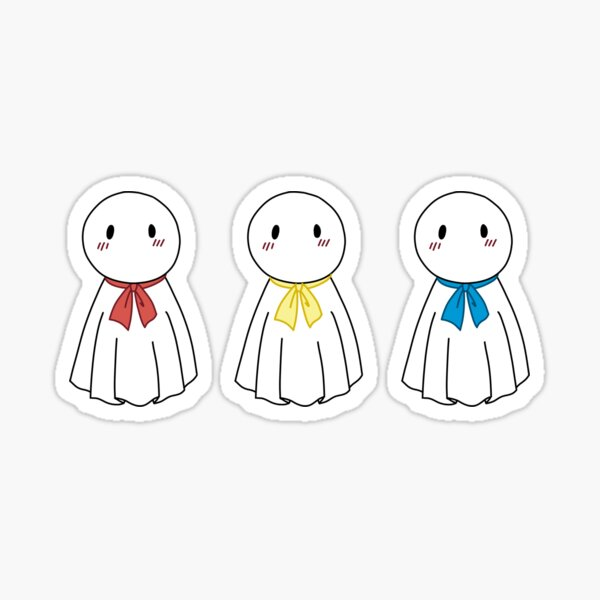 Weathering with you rain doll Sticker
