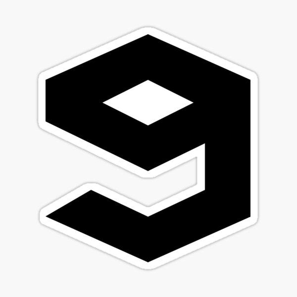 9gag Logo Sticker