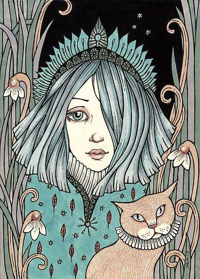 Snowdrop by Anita Inverarity