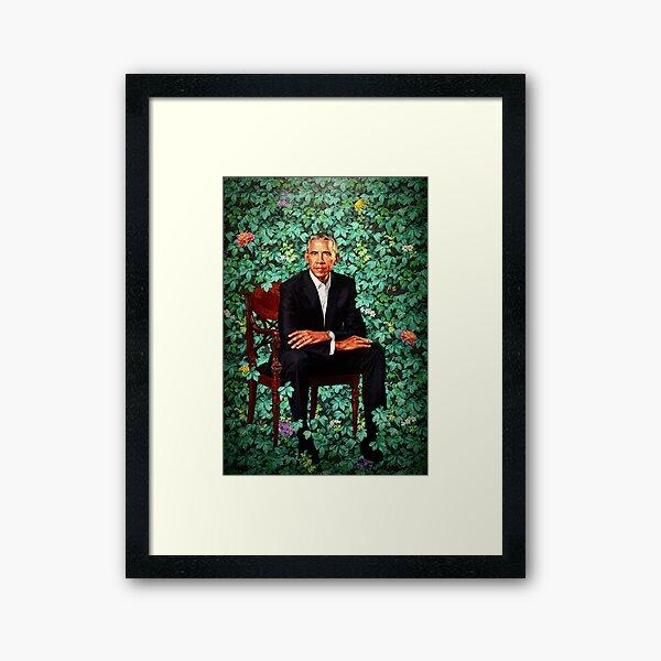 Unframed President Barack Obama Smithsonian's National Portrait Gallery Framed Art Print